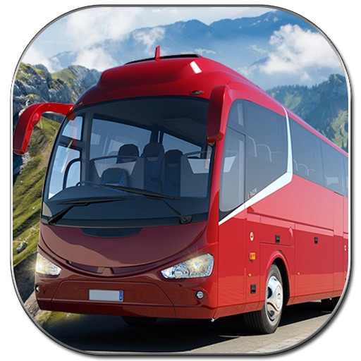 Mountain Crazy Bus Driving Game - Pro application logo