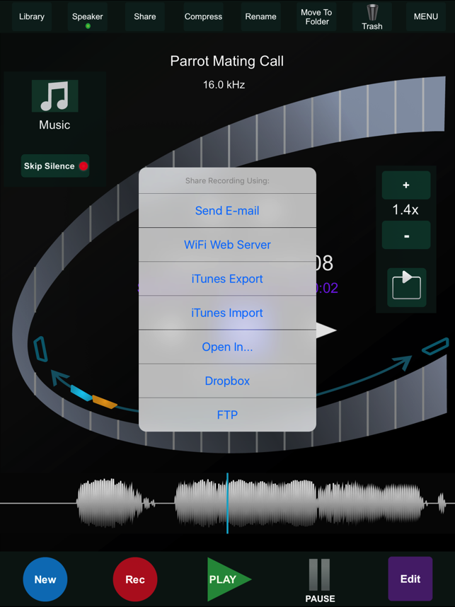 sync iphone to ipad ht recorder for on the app 8714