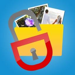 قفل و حماية الصور والفيديوهات برقم سري أو بصمة