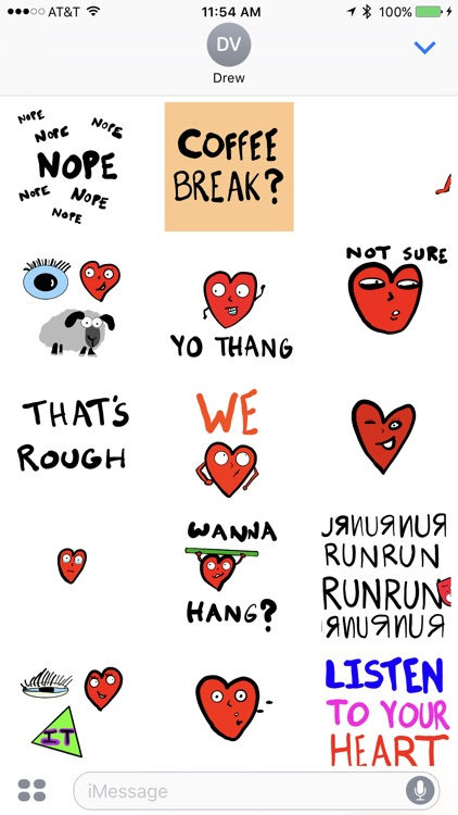 It Takes Heart Animated Stickers screenshot-3