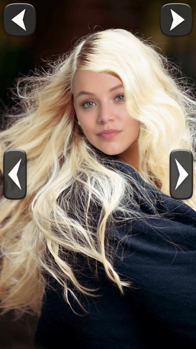Estilista cabello probar peinados nuevo estiloCaptura de pantalla de4