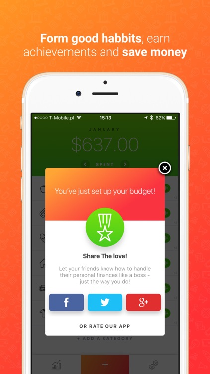Blinq: Simple Expense Tracker Spendings Analytics screenshot-3
