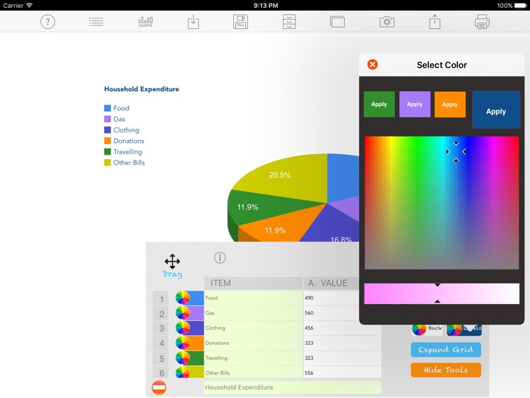 Chart Maker LT screenshot-2