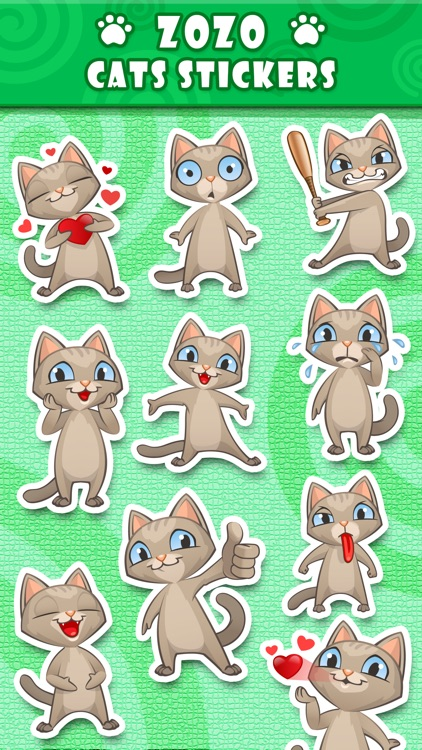 Zozo Cat Stickers