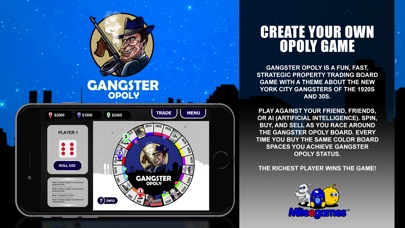 Miteegames gangster opoly is a fun fast do it yourself strategic property trading game about the gangsters of the 1920s prohibition era and the 1930s depression solutioingenieria Gallery