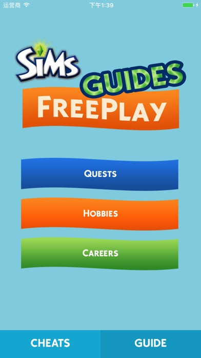 Screenshot for Cheats for The SIMS FreePlay + in United States App Store