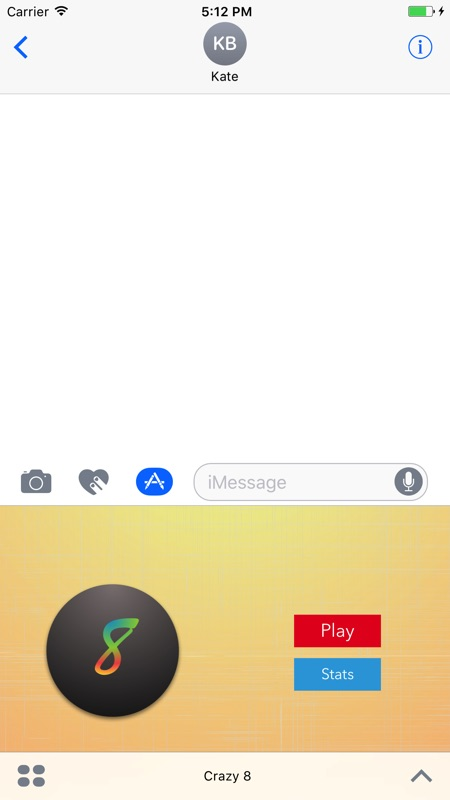 3 Minutes to Hack Crazy 8 for iMessage - Unlimited