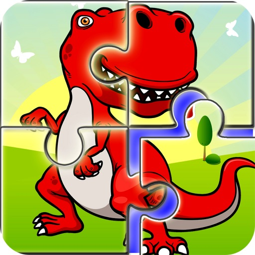 Kids Dinosaur Puzzle Game: Toddlers Jigsaw Puzzles iOS App