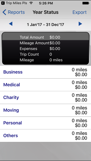 trip miles irs mileage log on the app store
