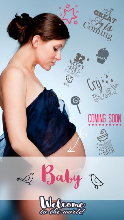 Baby Photo Story - Pregnancy Milestones Camera