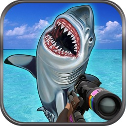 Flying Hungry Shark Shooting Games by Aziz Fatima