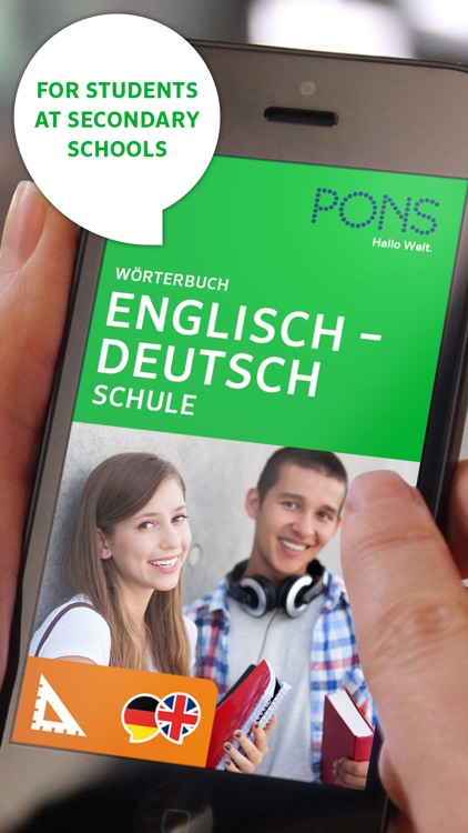 Dictionary German <-> English SCHOOL by PONS