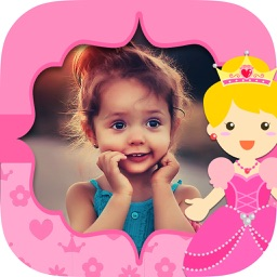 Fairy princess photo frames for girls – kids album