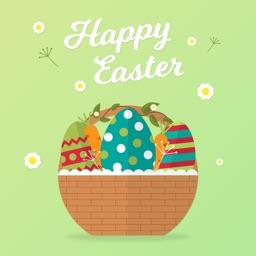 Easter Eggs Sticker for iMessage