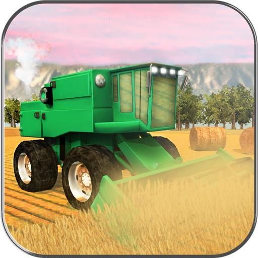 Ферма Уборочная Sim - 3D США Сельскохозяйственная
