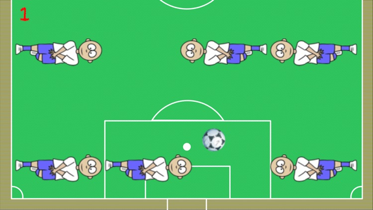 The way to the goal-The football game dribble ball screenshot-0