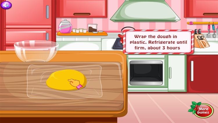 Moana Cooking cake Christmas - girl games for free screenshot-3