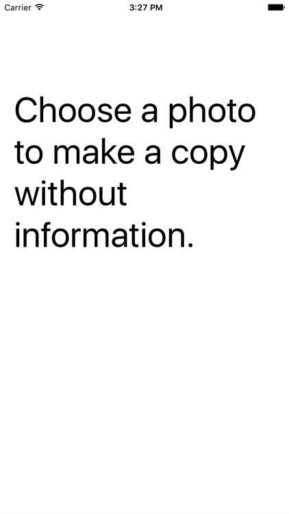 Hide img Info