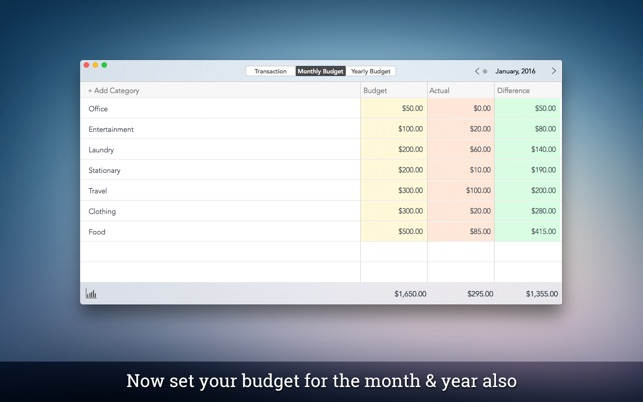 ‎Personal Budget Pro on the Mac App Store