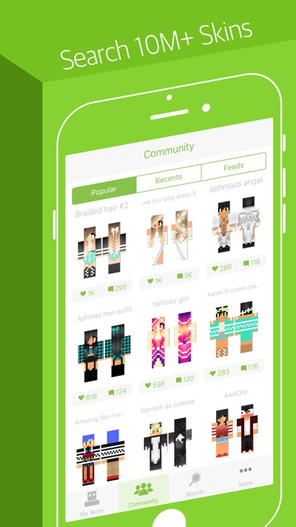 Skinseed - Skin Creator for Minecraft Skins screenshot-0