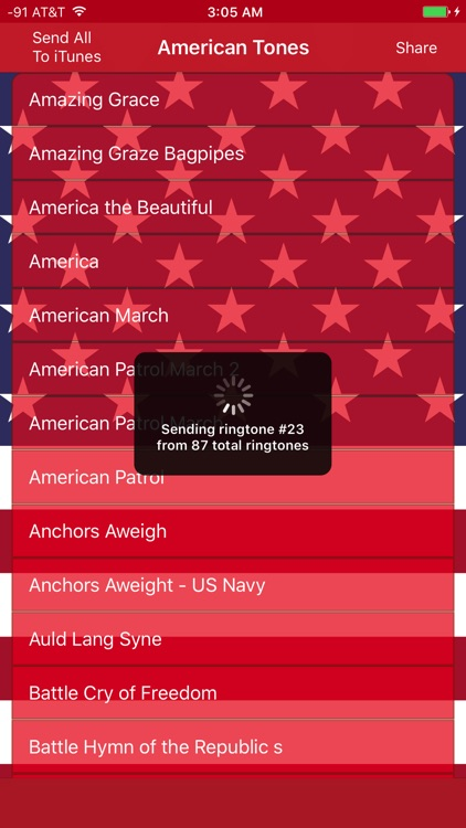 Best American Ringtones, Patriotic SMS and Tones