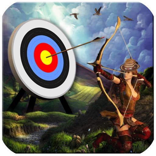 Shoot Bow Man 3D iOS App