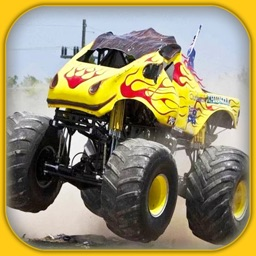Monster Truck Forest Delivery - Truck Racing Games