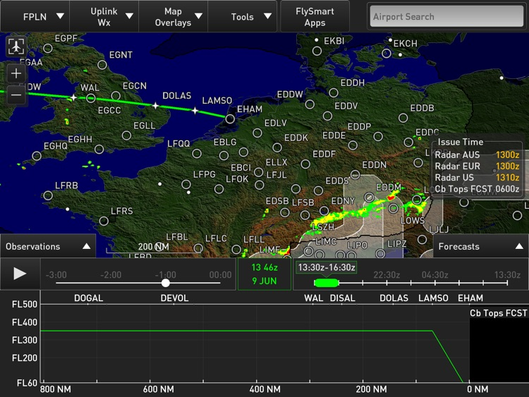 Weather on Board designed for FlySmart with Airbus screenshot-3