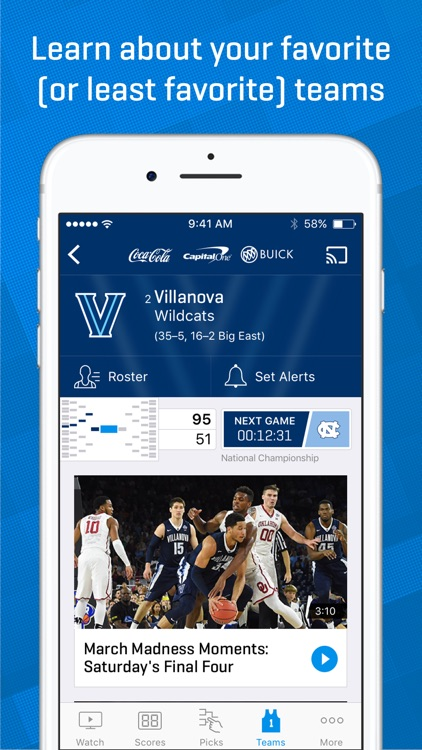 NCAA March Madness Live - Men's College Basketball screenshot-4