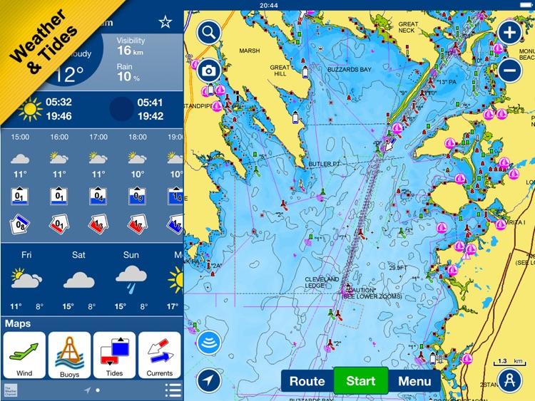 Boating Europe HD screenshot-4