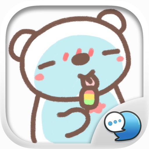 HereMhee Lovely Bear Stickers for iMessage Free