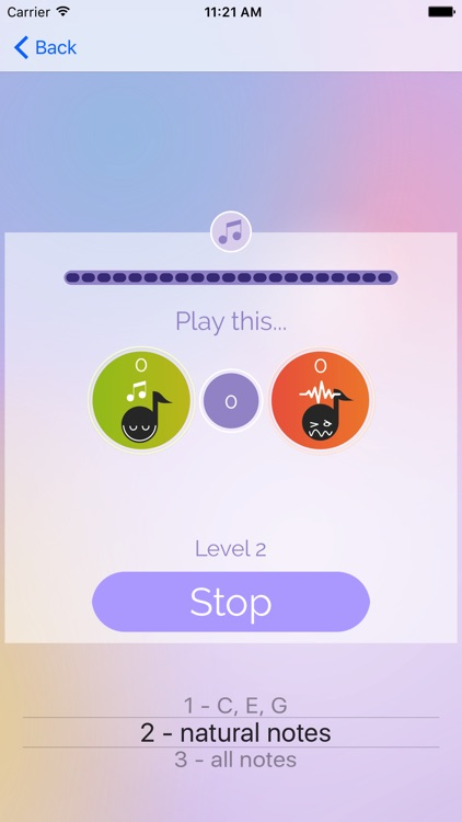 Simple Music Note Workout screenshot-4