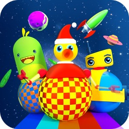 Timpy Robots In Space - 3D Robot Game For Kids