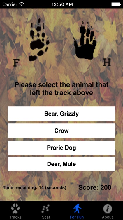 Critter Trax - Wild Animal Tracks and Scat
