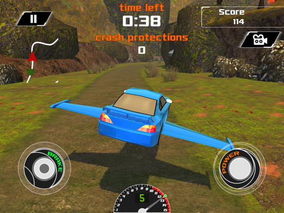 3D Flying Car VR Racing Simulator 2017 screenshot 10