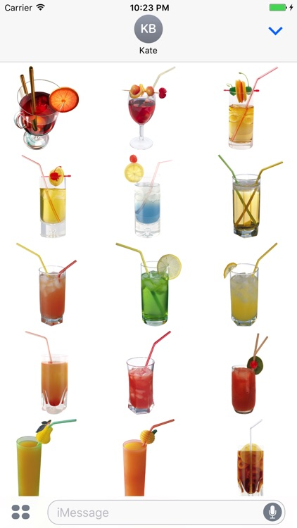 Drinks Sticker screenshot-1