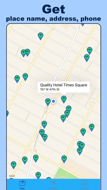 New York WiFi Pro - All Hotspots over NY city