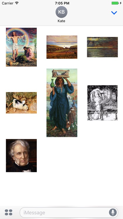 William Holman Hunt Artworks Stickers screenshot-3
