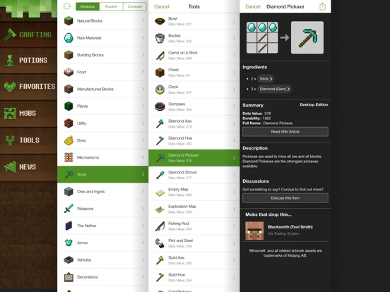 Minecraft Explorer Pro HD Screenshots