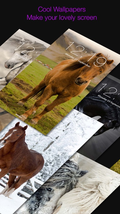 Horse Wallpapers & Backgrounds Lock Screen Theme