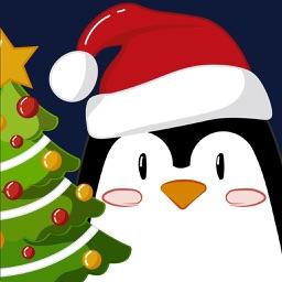 Christmas Penguins 2017 - fun stickers