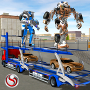 Multi Robot City Transport Driving Sim