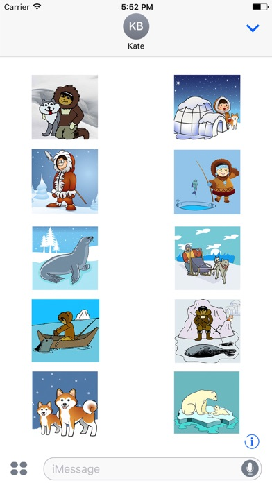 Eskimoji - Eskimos Emoji Stickers screenshot 3