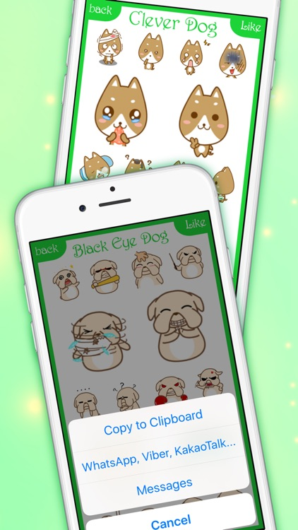 DogsMoji - Animated Dogs for iMessage & WhatsApp screenshot-4