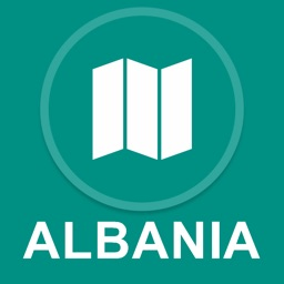 Albania : Offline GPS Navigation