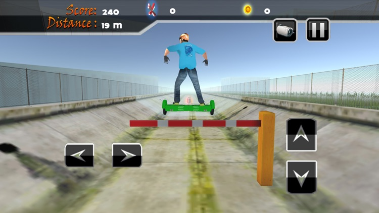 Real Hoverboard Stunts: Freestyle Board Simulator