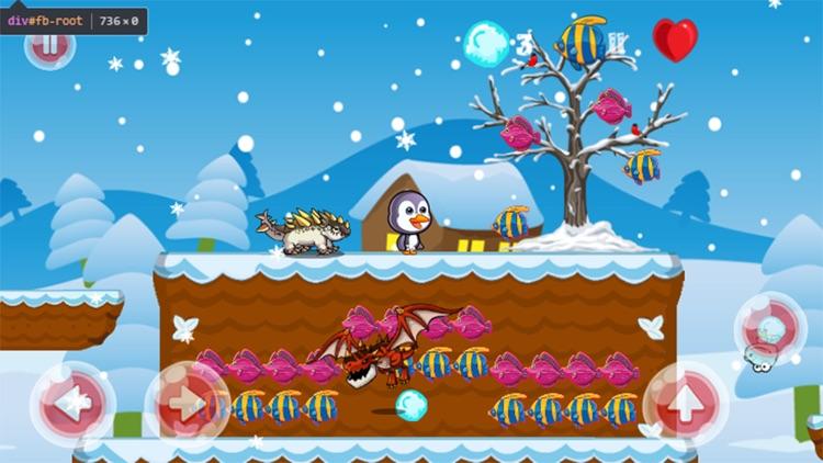 Super Penguin Run Snow Island Adventure Land screenshot-4
