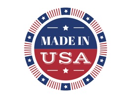 Be proud of the USA and show it with these Made in the USA emoji stickers
