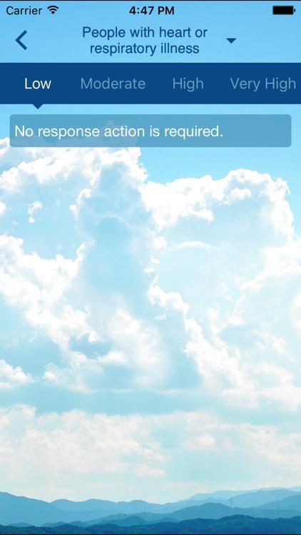 HK AQHI 香港空氣質素健康指數 screenshot-4