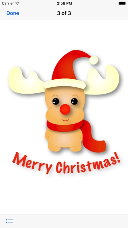 Rudolf - Christmas Emoji screenshot-1